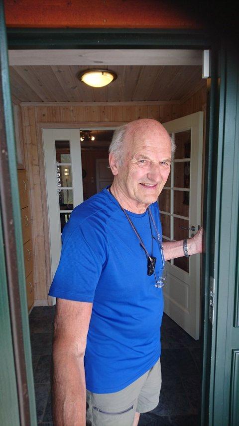 DIKTER: Arne Laderud fra Nordre Oppdalen.