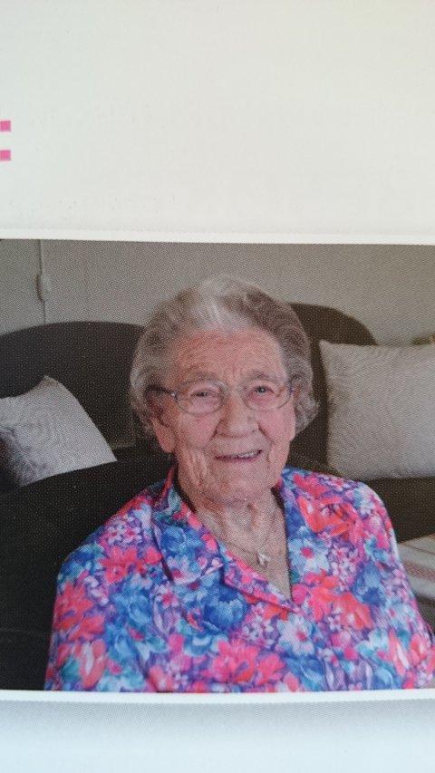100-ÅRING: Olga Karoline Marthinsen fyller 100 år 16. januar
