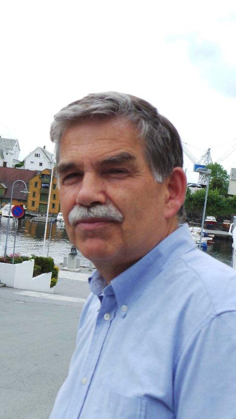 STYRELEDER: Martin Laurhammer i Lufthavnutbygging AS (LUB).