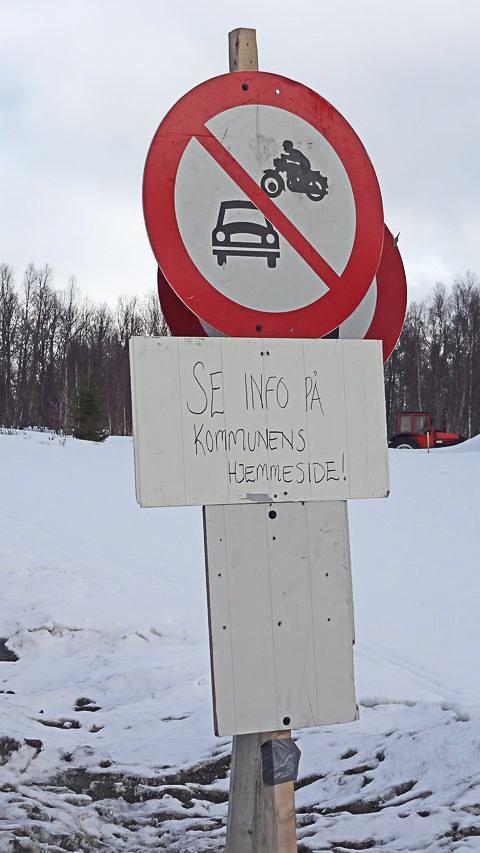 SKUTERLØSNING: Skuteren er god  å ha når hattfjelldalsveiene går i oppløsning.