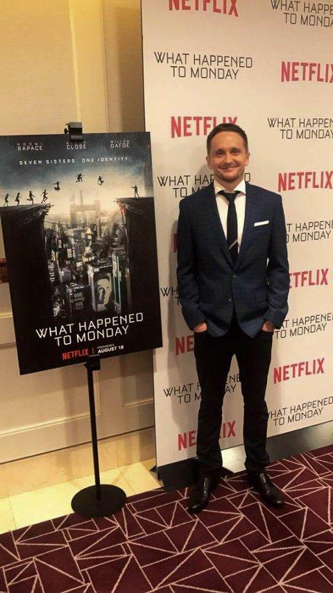 PREMIERE: Altaværingen Tommy Wirkola har gjort unna Netflix, og Norges-premieren på hans siste film, «What Happened to Monday». Foto: Kamilla Alnes