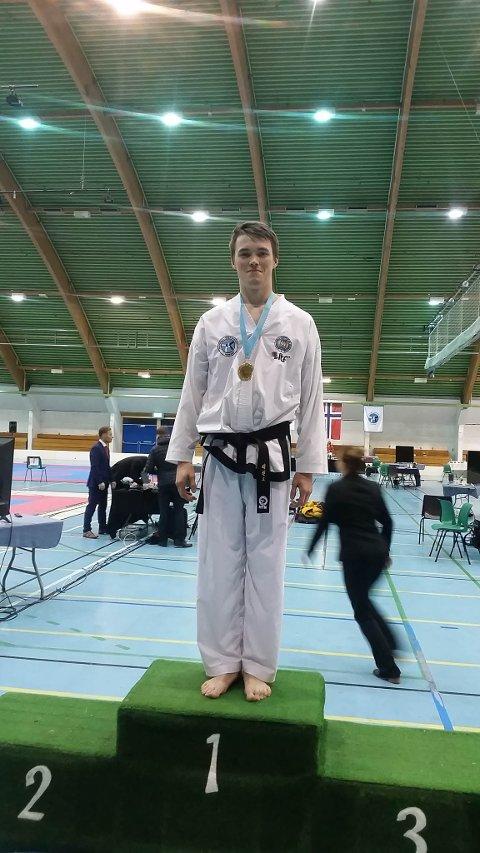 GULL Håvar Pedersen fikk gull i Highkick.