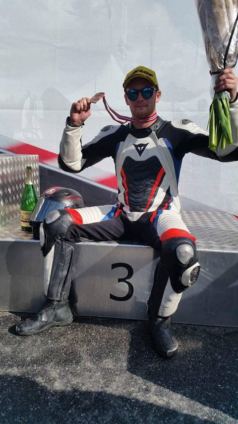 Marius Ripel Jensen har sikra seg bronse i NM.