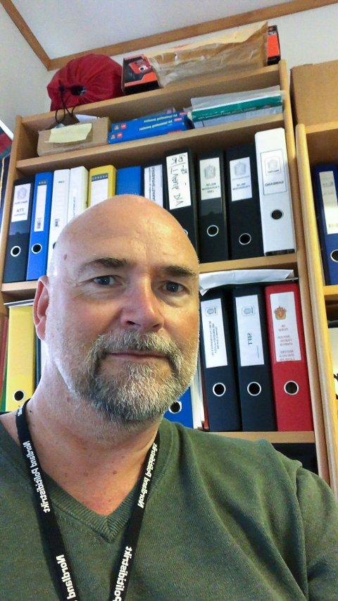 Bjørn Rist (53) jobber i dag som praksisansvarlig for politiskolestudenter i andre studieår fra politihøgskolene i Stavern, Oslo og Bodø.