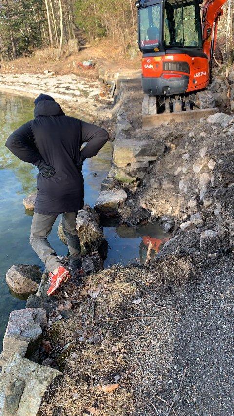 Askerøya vel har engasjert Ragg AS til arbeidet med veien.