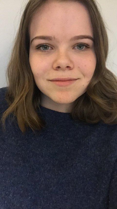 Liv Müller Smith-Sivertsen, elev ved Rothaugen skole (14 år).