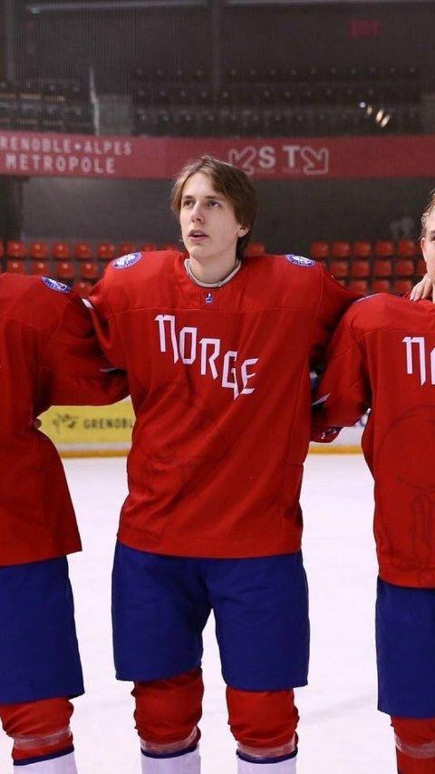 KLAR: Eirik Hafstad Johansen har skrevet under for Narvik hockey.