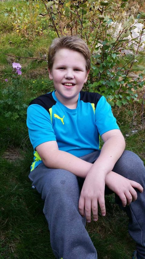TYVERI: Anders (11) kjøpte ny sykkel onsdag kveld. Samme natta ble den stjålet.