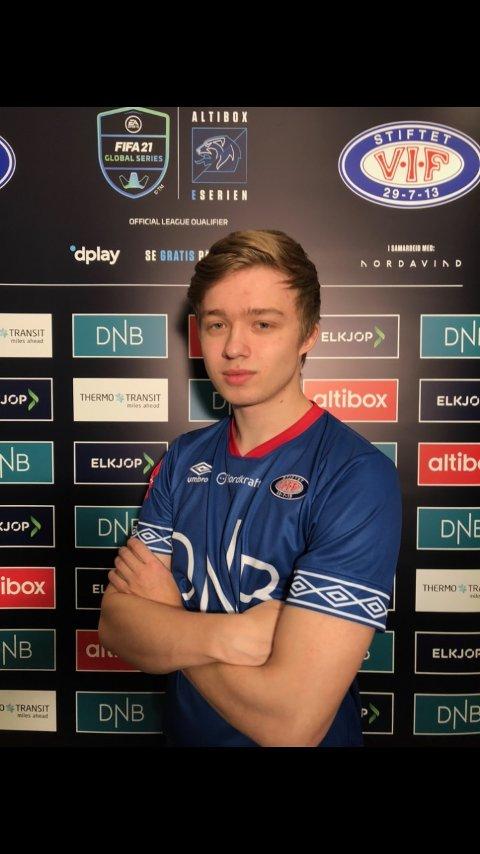 KLAR FOR NORGE: Thomas Henningsen (19) er tatt ut på det norske FIFA-landslaget.