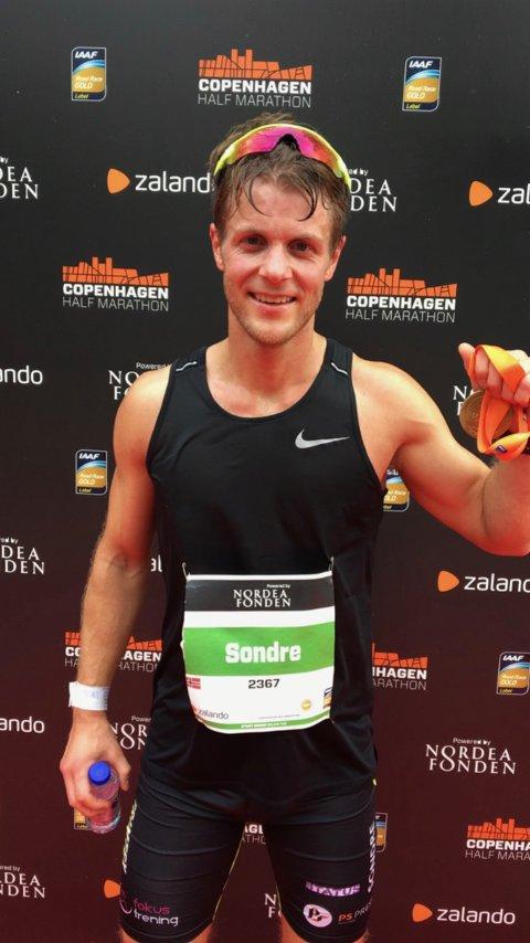 Sondre Fylling knuste sin egen personlige rekord under helgens Berlin maraton.