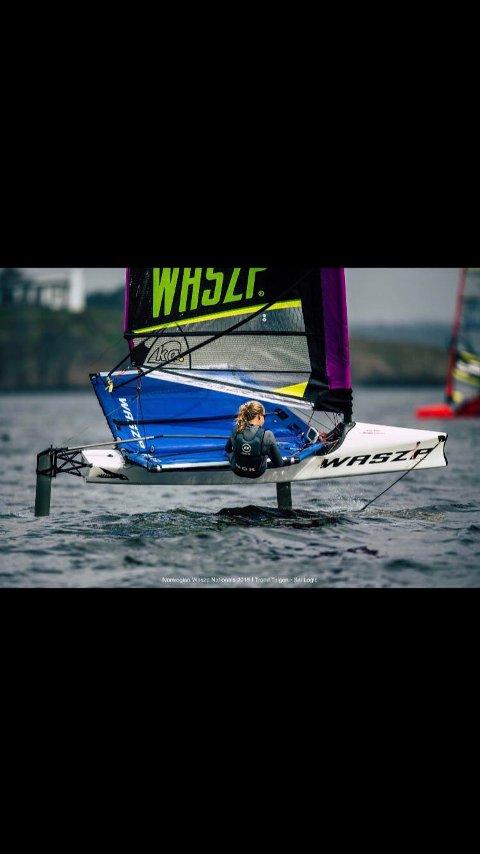 GOD: Nora Doksrød har hevdet seg godt innenfor båtklassen. Oppkjøringen til sesongen blir annerledes for multitalentet.