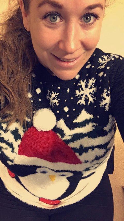 Sara Sanne Opdahl ønsker seg rolige dager til jul.