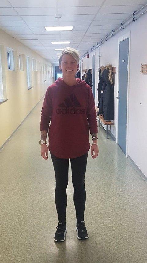 LOS: Susann Myrvang Martinsen er los på Gran ungdomsskole.