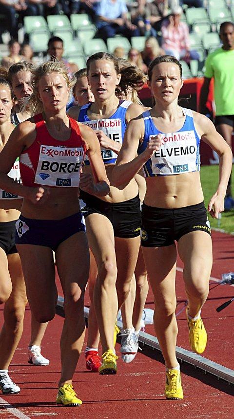 MOT MÅKESTAD BOVIM: Yngvild Elvemo, til høyre, løper for topplassering i helgens NM.