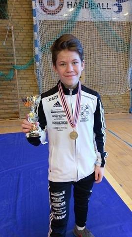 Christoffer Andresen (14) vant NM-gull i bryting. For andre gang på to uker!
