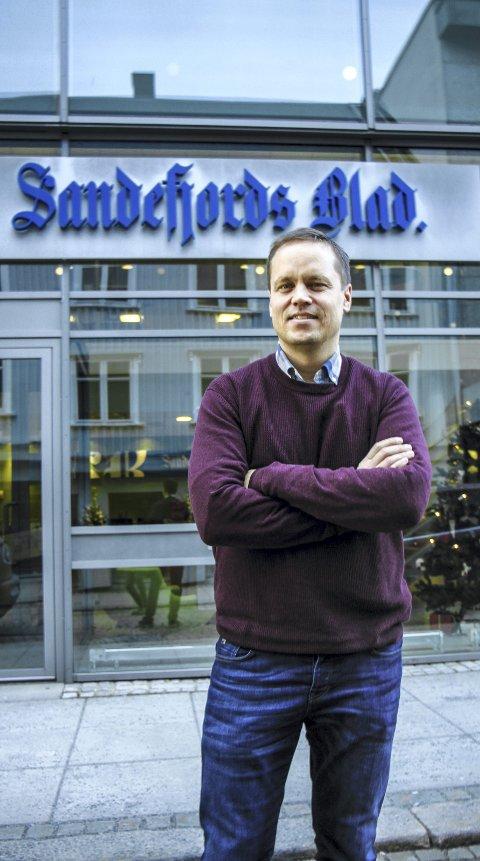 Steinar Ulrichsen Ansvarlig redaktør Sandefjords Blad