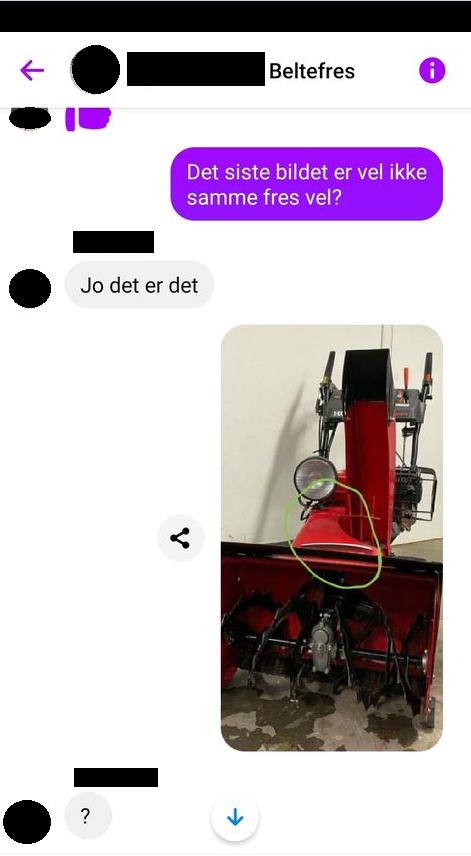 SVINDEL: Politiets nettpatrulje Nordland advarer mot svindelforsøk på Facebook.