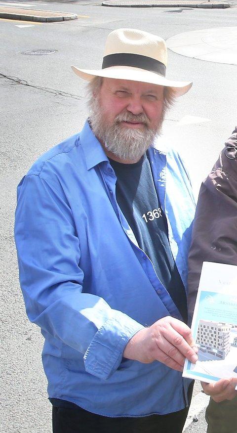 EGNE PLANER: Jan Christian Mollestad i Vestre Stabekk Vel.
