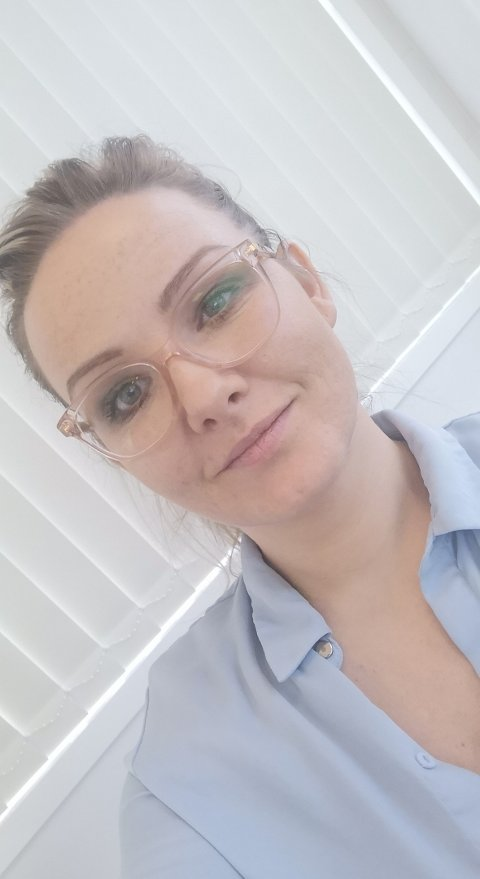 DRIFTSLEDER: Kristine Ødegård (34) er driftsleder på Silver Seeds smoltanlegg på Mølnarodden.