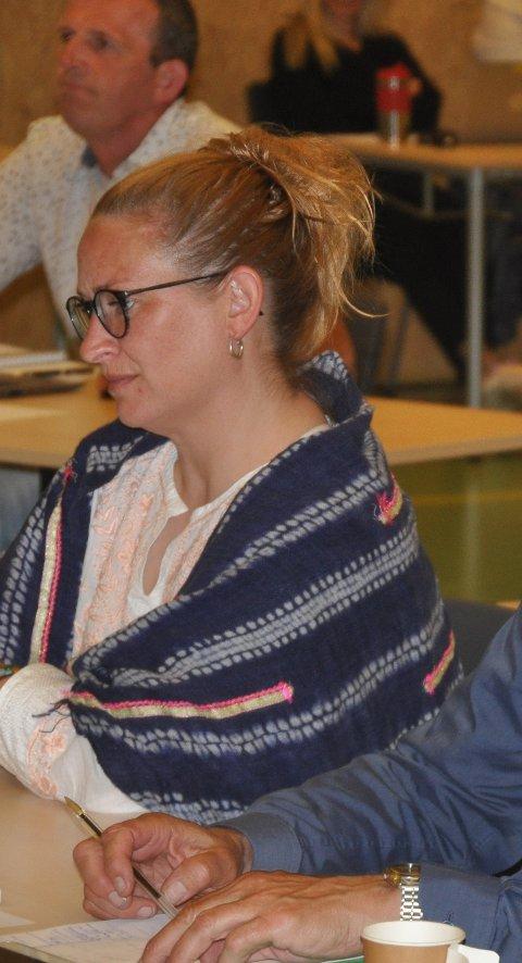 ÅPENHET: Runhild Olsen (SV).