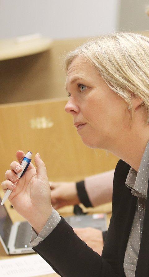 Håper på fengsel: Ordfører Elin Gran Weggesrud er klar til å engasjere seg for å få et fengsel til Grelland.Foto: Jarl Rehn-Erichsen