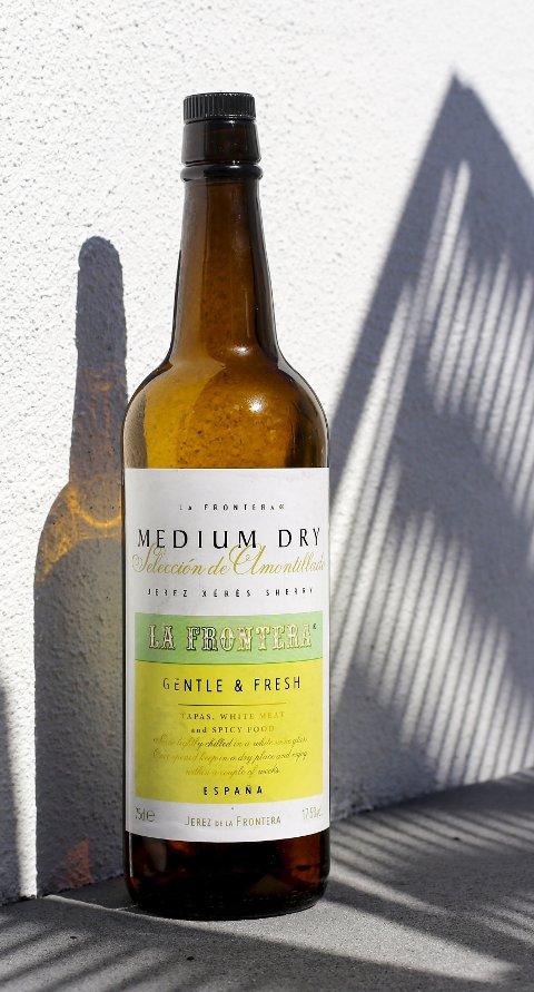 La Frontera Amontillado Medium Dry, kr 164,90.