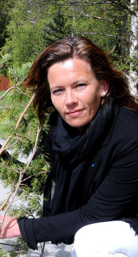GOD LØSNING: Mariann Skotte, ordfører i Lesja.