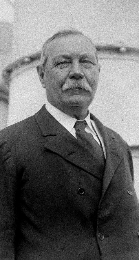 Sir Arthur Conan Doyle: Skaperen av Sherlock Holmes. Foto: NTB scanpix