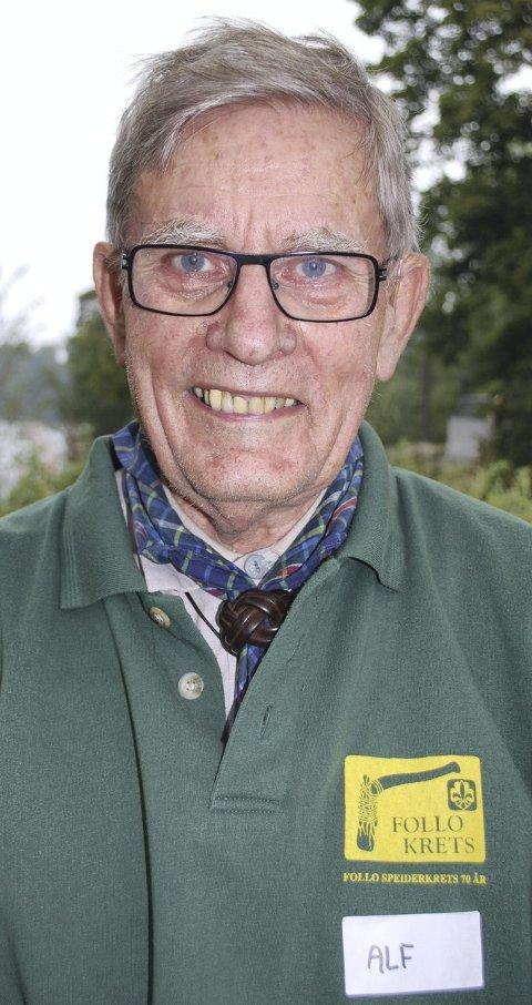 TIL MINNE: Alf Salvesen.