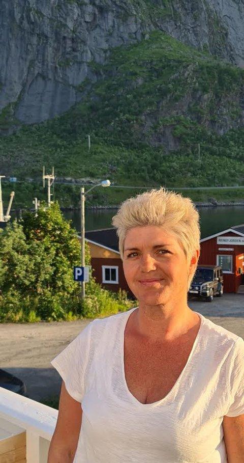 NY SJEF: Cecilie Berntzen fra Reine er ansatt som daglig leder hos fiskeutstyrsprodusenten Latech AS på Moskenes.