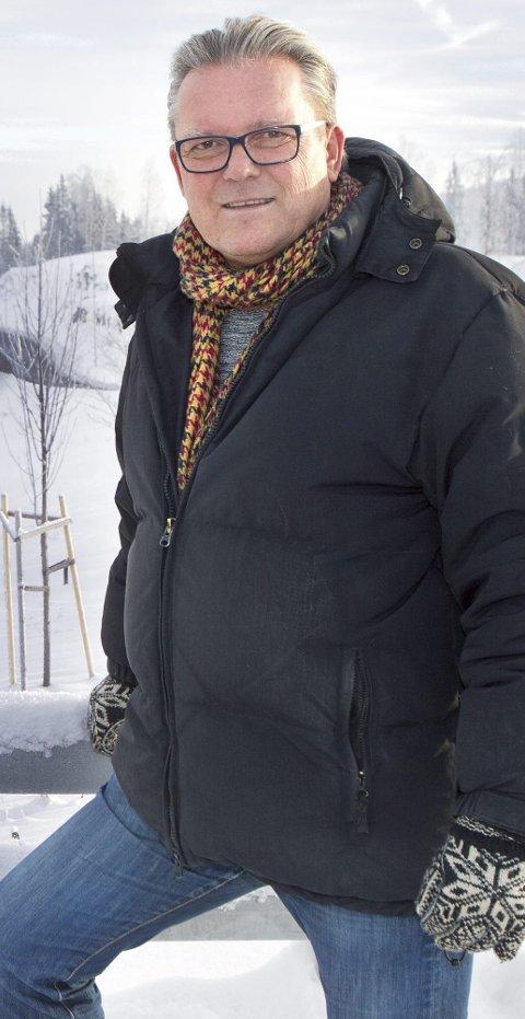 TRAKK SEG: Fylkesleder Johan Aas.Foto: Ole-Johnny Myhrvold