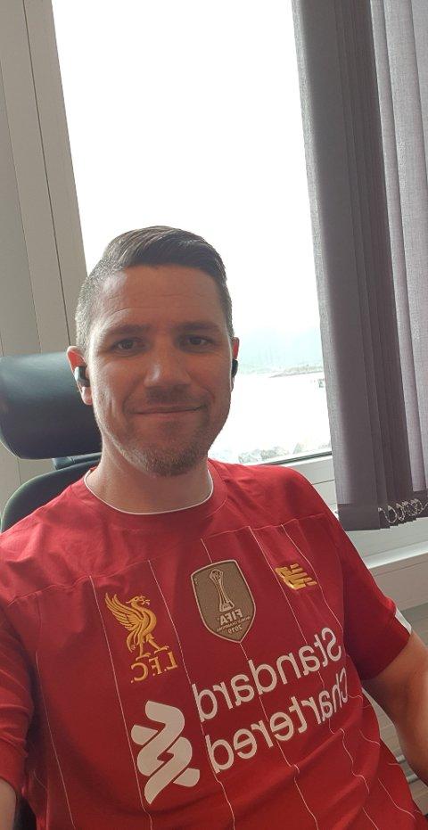 OVERVELDENDE: Michael Pettersens innlegg skapte blest på Vestvågøy. Han er selv overveldet av responsen.