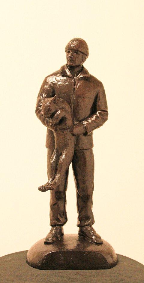 Slik ser Ole Mauseths bronseskultur ut.