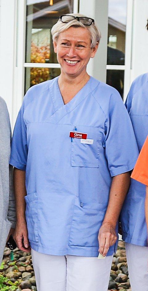 STÅR PÅ: Gina M. Johnsen er avdelingskoordinator på Yttersølia.