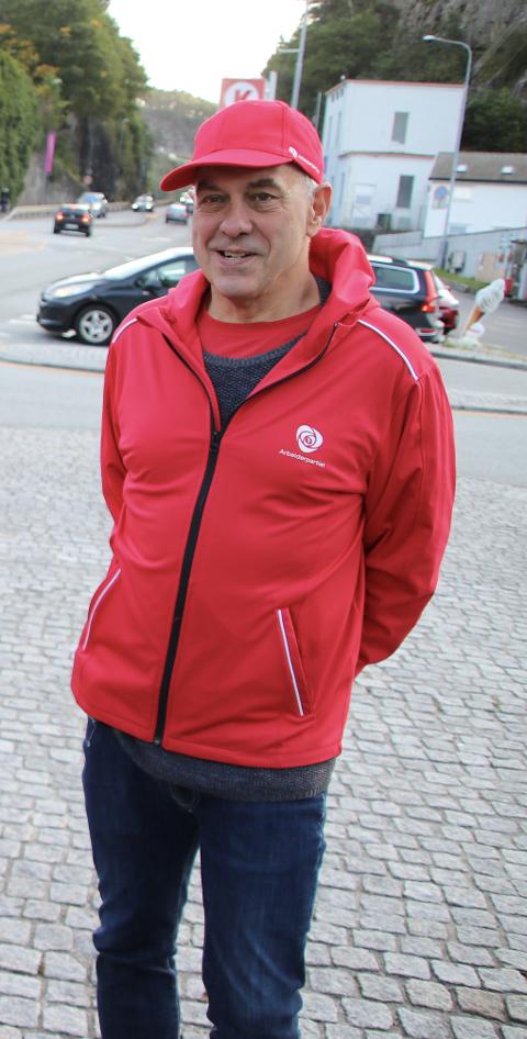 TYDELIGERE: Svein Hobbesland (Ap) varsler at Arbeiderpartiet nå skal bli mer tydelige på sin politikk i Flekkefjord.