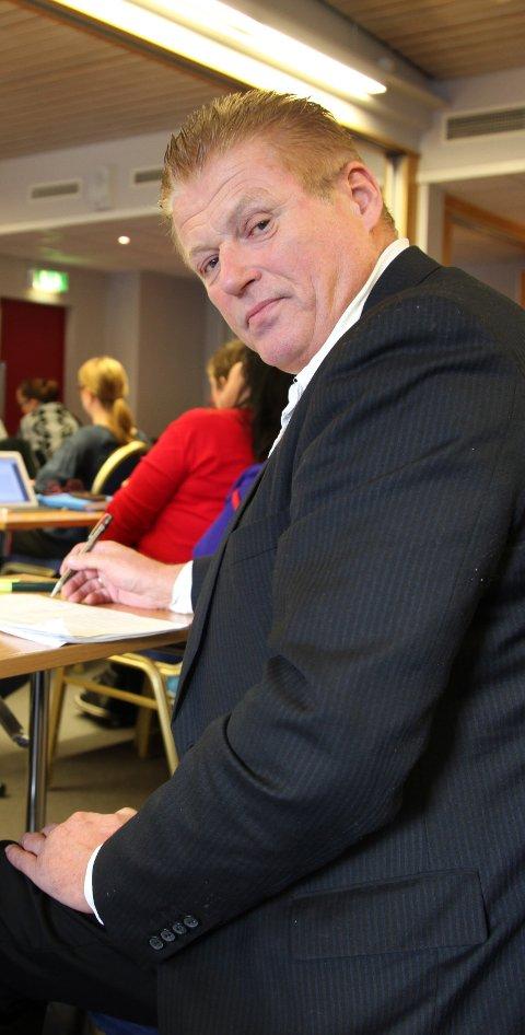 Selg! Per Gunnar Skotåm vil eliminere risikoen med å ha verdier i aksjer. Han vil selge unna og få rede penger i stedet. Foto: Tore John Andreassen