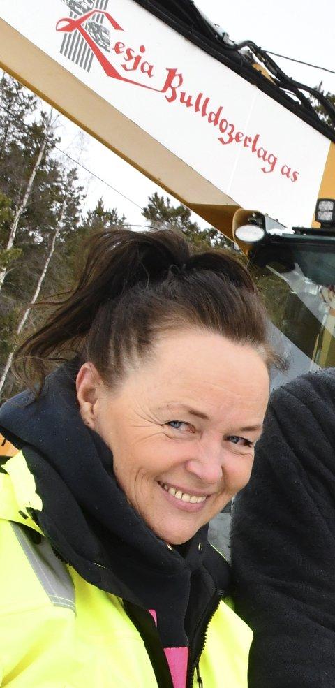 HYTTEFORBUD: Ann-Kathrin Storhaug, daglig leder i Lesja Bulldozerlag.