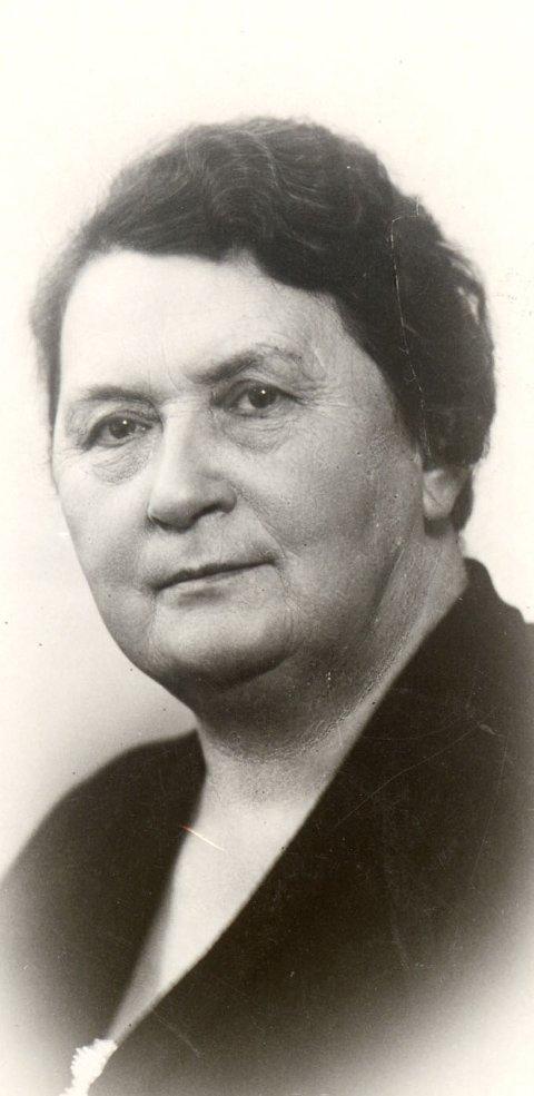 PIONER: Helga Anna Augusta Ramstad var første fast innvalgte kvinnelige stortingsrepresentant fra Akershus.Foto: Stortinget