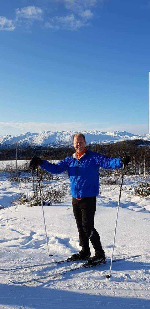 Skiferie: Dag på tur i Rauland. Forrige uke var det Ischgl i Østerrike.