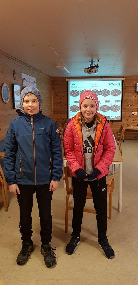 2 av våre rekrutter. Jan Olav Hjelmeland og Helene Hansen