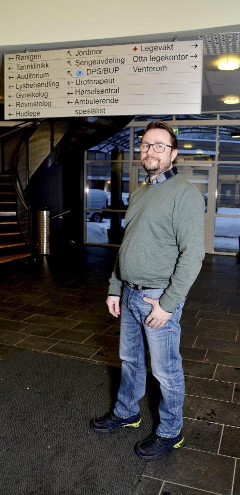 Ny virksomhetsleder: Arild Kongsrud er ny virksomhetsleder for NGLMS og hjemmetjenesten i Sel kommune.
