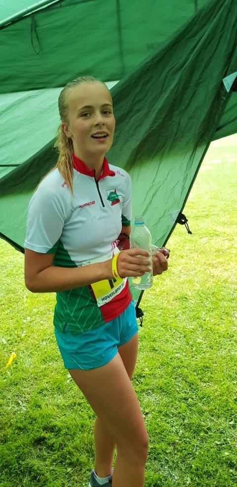 Agathe Brathagen (Larvik OK) løp til en god 21. plass i D15.