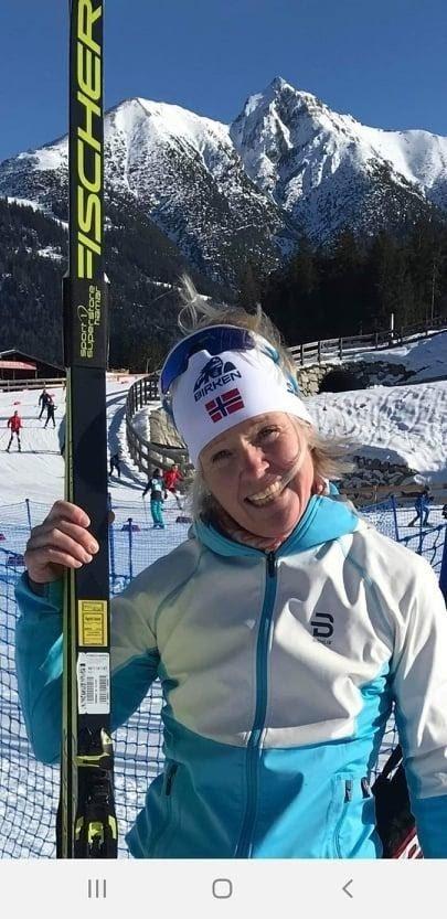 SUVEREN: Ragnhild Bolstad var suveren i VM-byen Seefeld da årets masters ble arrangert sist uke.
