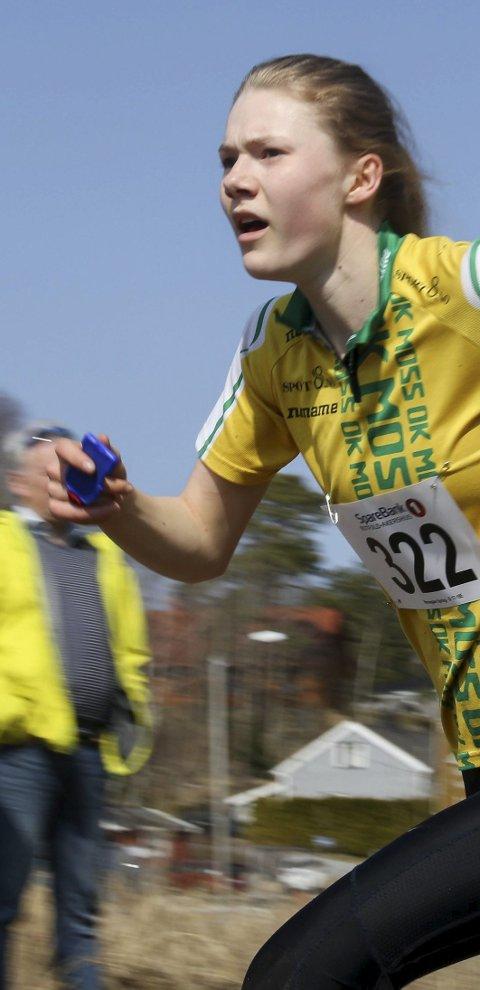 TOPP UTGANGSPUNKT: Auroa Gjølsjø startet også i år sesongen med å løpet meget sterkt.