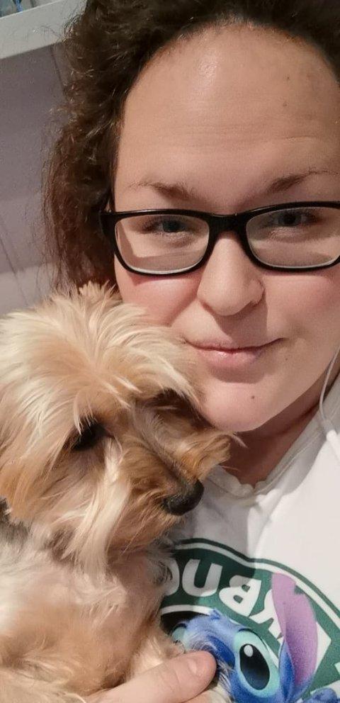ENGASJERT: Ida Andersen fra Jessheim er blant dem som har brukt de siste dagene til å kartlegge savnede kjæledyr etter skredet i Gjerdrum.