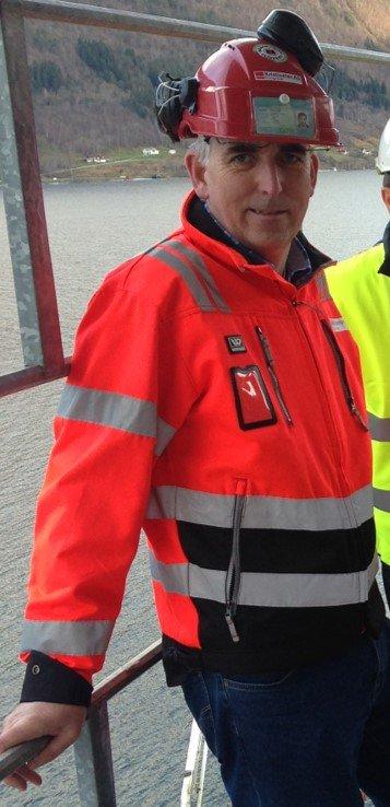 Stig Mork er distriktsleder i Veidekke Entreprenør Møre og Romsdal.