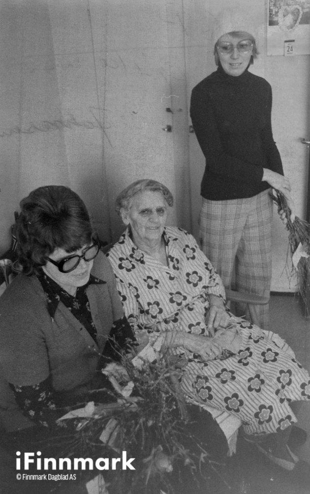 Gp, Bjerke-Ris og Olga Johnsen.
