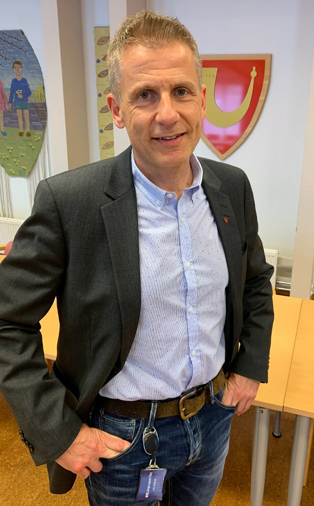 Konstituert kommunedirektør i Løten, Arne Jørstad.