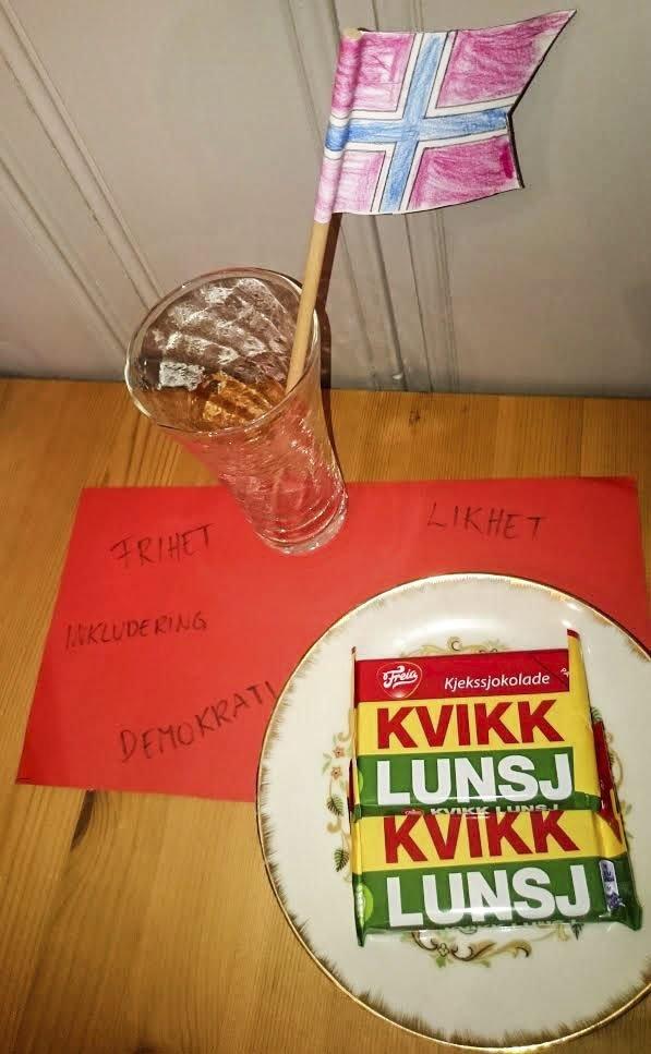 TRADISJONER: Kulturministeren snakker om Kvikk Lunsj, brunost og Bjørndalen. Runa Askmann Kristiansen er opptatt av at det ligger noen verdier i bunnen for hva som er typisk norsk. De materielle typisk norsk-gjenstandene er kun overflatiske, mener hun.