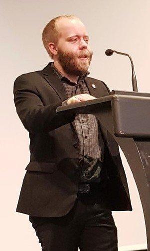 Morten Haugerøy, lokallagsleder i Nærøysund Frp.